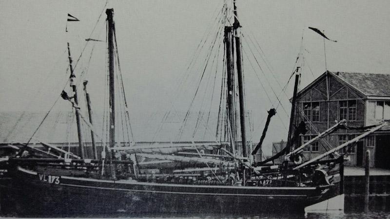 Visserijschepen van Scheveningen, IJmuiden, Vlaardingen ...